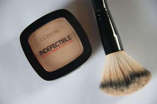 L'Oréal Paris Indefectible 24H Halt Make-Up und Puder, Farbe: 160 Sand Beige