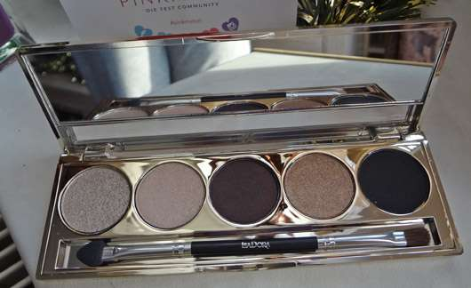 IsaDora Eye Shadow Palette Golden Edition, Farbe: 65 Golden Eyes (LE)