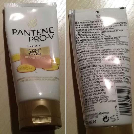 <strong>PANTENE PRO-V</strong> Repair & Care Intensive Repair 2 Minuten Kur