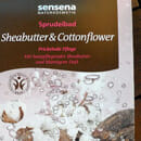 Sensena Naturkosmetik Sprudelbad Sheabutter & Cottonflower
