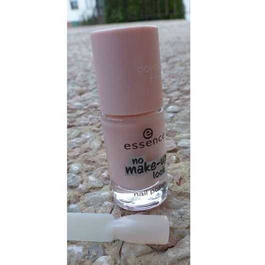 essence no make up look nail polish, Farbe: 01 powdery rose