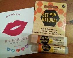 Produktbild zu BEE NATURAL Mango 100% Natural Lip Balm