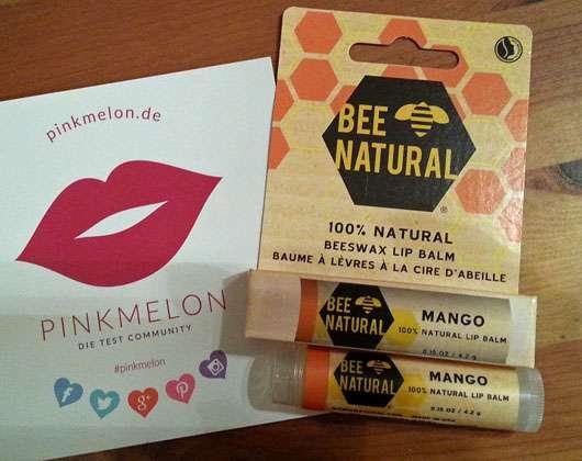 BEE NATURAL Mango 100% Natural Lip Balm