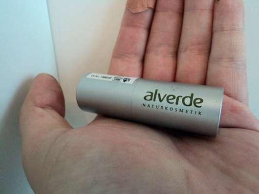 alverde Color & Care Lippenstift, Farbe: 62 Cranberry