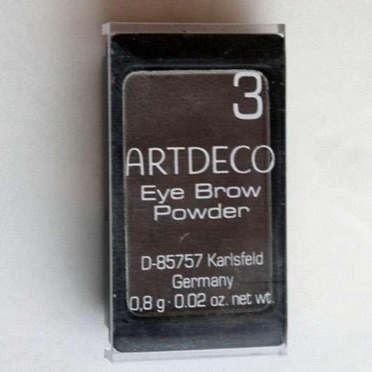 Artdeco Eye Brow Powder, Farbe: 3 brown