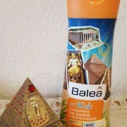 """Produktbild zu Balea Schaumbad für Kids """"Die Sieben Weltwunder"""""""