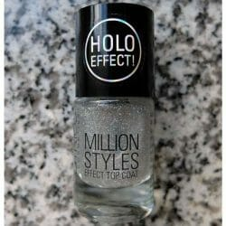 Produktbild zu Catrice Million Styles Effect Top Coat – Farbe: 05 Let's Do The Holo Show