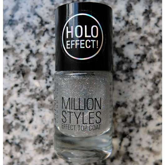 Catrice Million Styles Effect Top Coat, Farbe: 05 Let's Do The Holo Show
