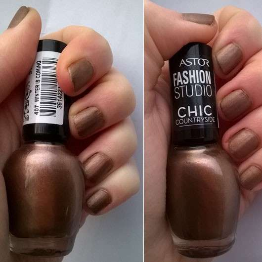 ASTOR Fashion Studio Chic Countryside Matte Collection, Farbe: 407 Winter Is Coming (LE)