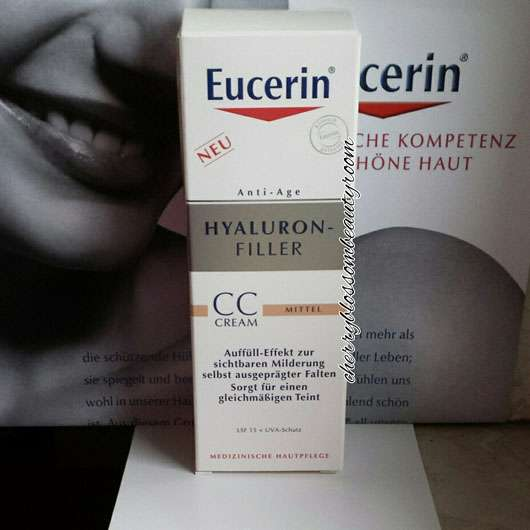 <strong>Eucerin</strong> Hyaluron-Filler CC-Cream - Farbe: Mittel