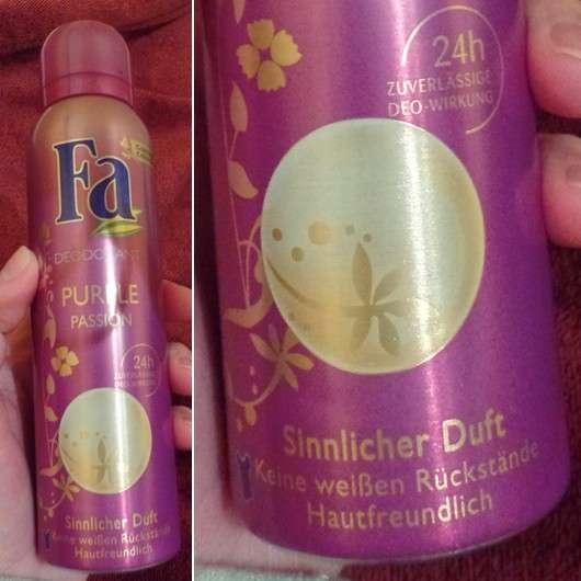 Fa Purple Passion Deodorant