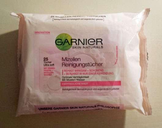 Garnier Skin Naturals Mizellen Reinigungstücher (empfindliche Haut)
