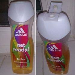 Produktbild zu adidas get ready! for her nourishing shower gel