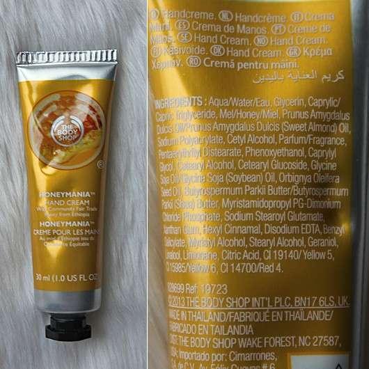 The Body Shop Honeymania Handcreme