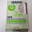 ISANA 200 Bio Wattestäbchen