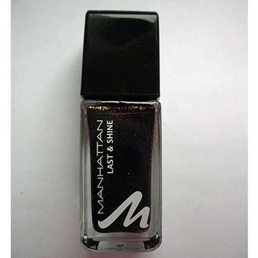 Manhattan Last & Shine Nail Polish, Farbe: 760 Moscow Night