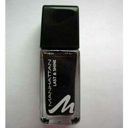 Produktbild zu MANHATTAN Last & Shine Nail Polish – Farbe: 760 Moscow Night