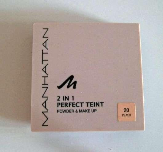 Manhattan 2in1 Perfect Teint Powder & Make Up, Farbe: 20 Peach