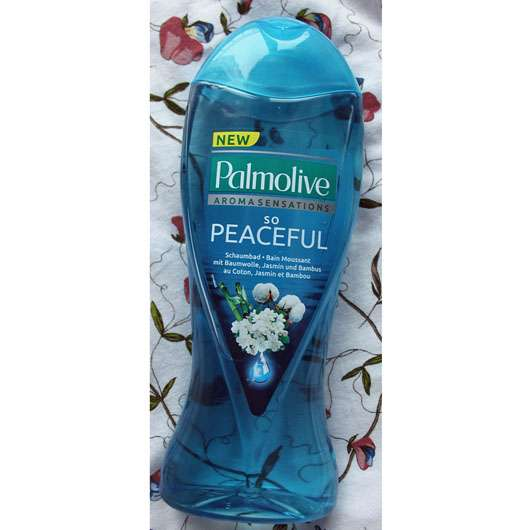 <strong>Palmolive Aroma Sensations</strong> So Peaceful Schaumbad