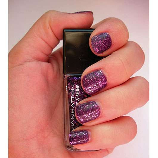 Manhattan Last & Shine Nail Polish, Farbe: 770 Sparkle Up