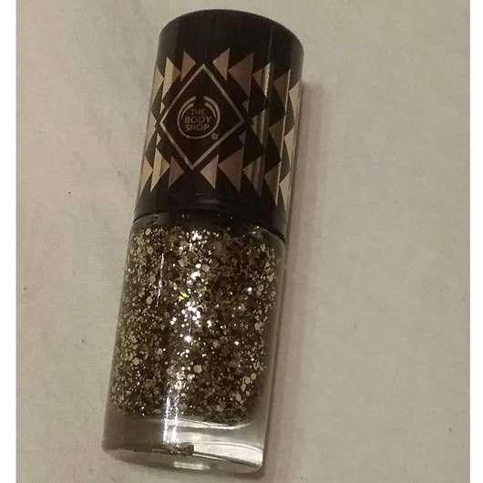 The Body Shop Colour Crush Winter Trend Nail Colour, Farbe: 960 Gold Glitter (LE)