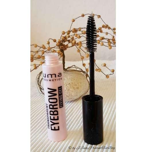 <strong>uma cosmetics</strong> transparent eyebrow fixing gel