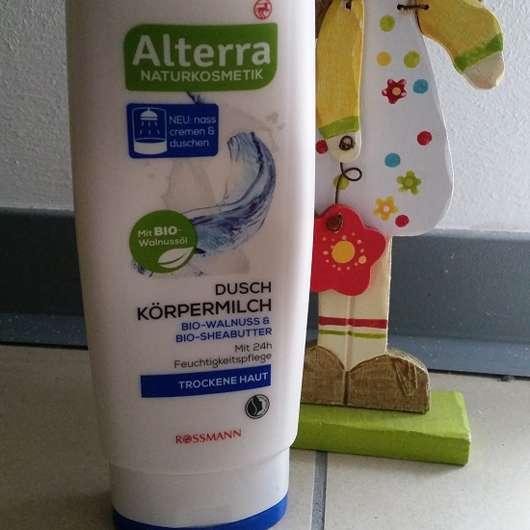 Alterra Dusch Körpermilch Bio-Walnuss & Bio-Sheabutter