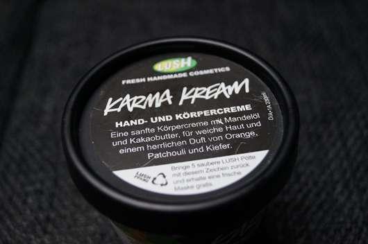 LUSH Karma Kream (Hand- und Körpercreme)