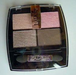 Produktbild zu IsaDora Eye Shadow Quartet – Farbe: 05 Nude Rose
