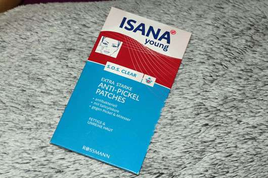 ISANA YOUNG S.O.S. Clear Extra starke Anti-Pickel Patches
