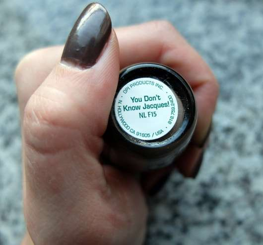 OPI Nail Lacquer, Farbe: You Don't Know Jacques!