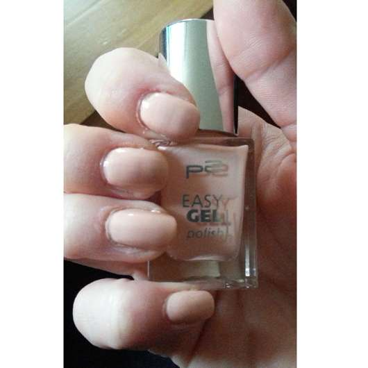 p2 easy gel polish, Farbe: 020 darling peach