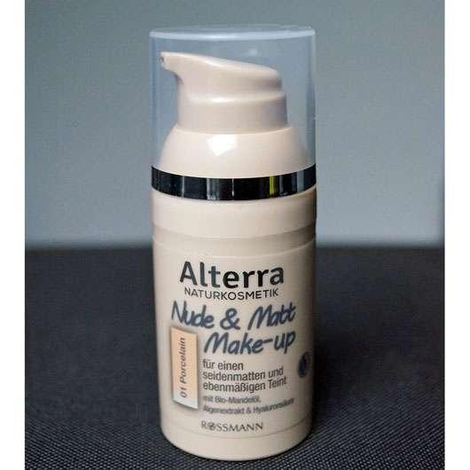 Alterra Nude & Matt Make-up, Farbe: 01 Porcelain