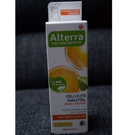 Alterra Cellulite Hautöl Birke & Orange