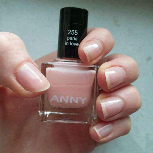 ANNY Nagellack, Farbe: 255 paris in love
