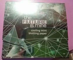 Produktbild zu p2 cosmetics the future is mine cooling mint blotting paper (LE)