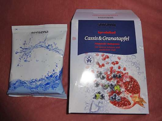 Sensena Sprudelbad Cassis & Granatapfel