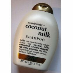 Produktbild zu OGX nourishing+ coconut milk shampoo
