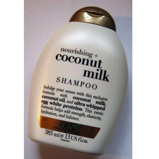 <strong>OGX</strong> nourishing+ coconut milk shampoo