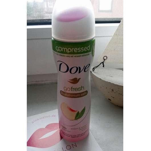 Dove go fresh compressed Deo-Spray Pfirsich- & Zitronenverbenenduft