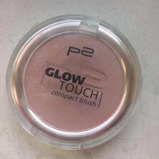 p2 glow touch compact blush, Farbe: 040 touch of rose