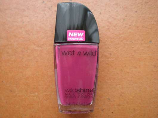 wet n wild Wild Shine Nail Color, Farbe: E487E Grape Minds Think Alike