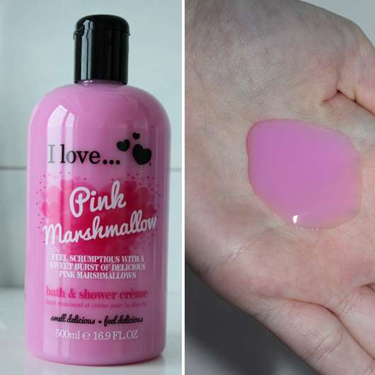 I love… Pink Marshmallow bath and shower crème (LE)