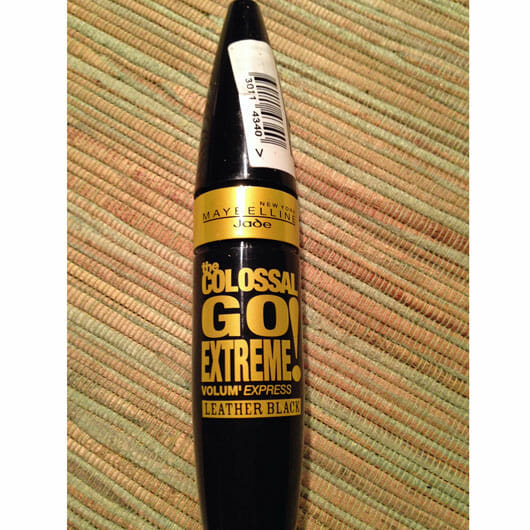 Maybelline The Colossal Go Extreme! Volum' Express Mascara, Farbe: Leather Black