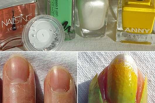 Ombre-Nails mit oder ohne Glitzer – je nach Geschmack