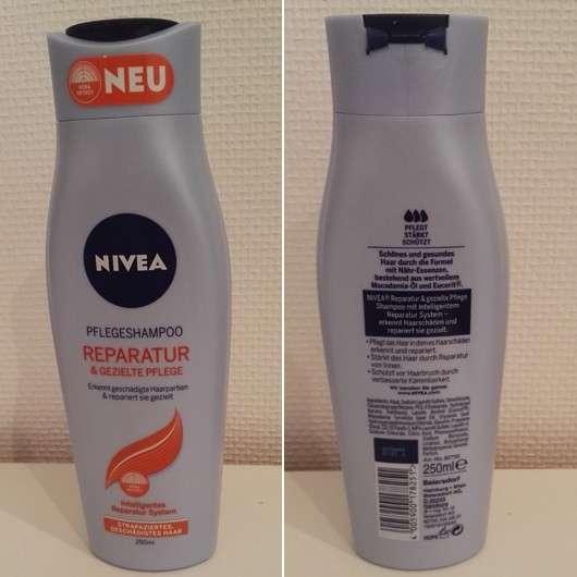 Nivea Pflegeshampoo & Pflegespülung Reparatur & gezielte Pflege