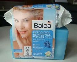 Produktbild zu Balea Erfrischende Reinigungstücher 3in1 (normale und Mischhaut)