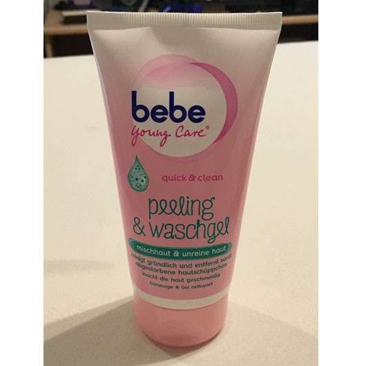 bebe Young Care quick & clean peeling & waschgel