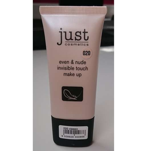 just cosmetics even & nude invisible touch make up, Farbe: 020 classic