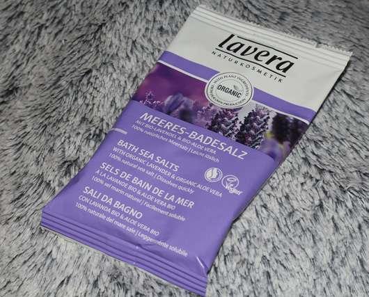 lavera Meeres-Badesalz mit Bio-Lavendel & Bio-Aloe Vera